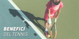 benefici del tennis