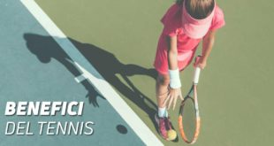 benefici del tennis