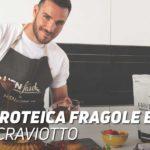 Torta Proteica Fragole e Cocco Saul