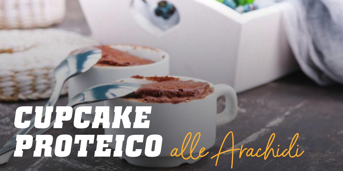 Cupcake Proteico alle Arachidi e Biscotti