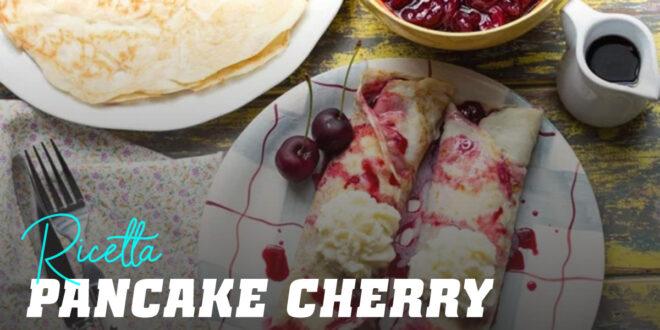 Pancake di Avena e Albume 'Cherry Pancake'