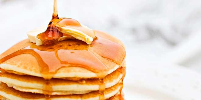 Pancakes Avena, Uovo Intero e Sciroppi HSNfoods