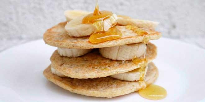 Pancakes d'Avena e Albumi con Caseina