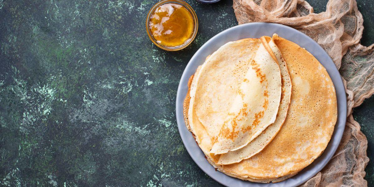 Pancakes d'Avena Miele e Anacardi