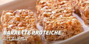 Barette Proteiche all'Avena al Forno