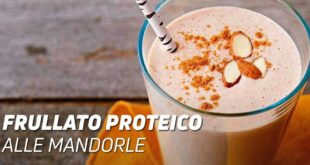 Frullato Proteico alle Mandorle