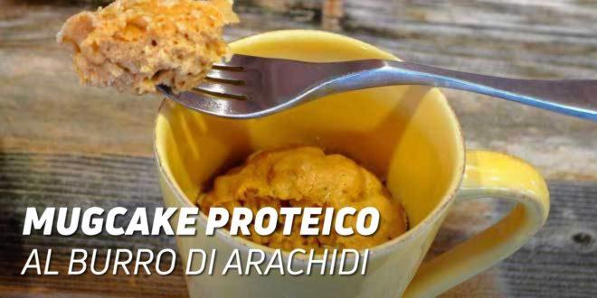 MugCake Proteico al Burro di Arachidi