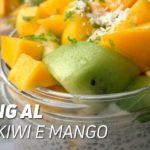 Pudding cocco kiwi mango