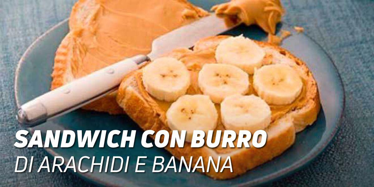 Sandwich al Burro di Arachidi e Banana