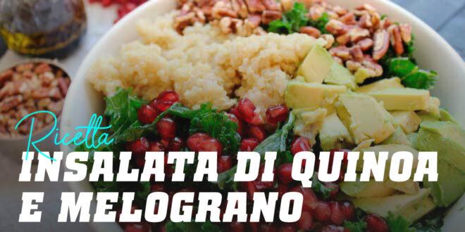 Insalata di Quinoa e Melograno