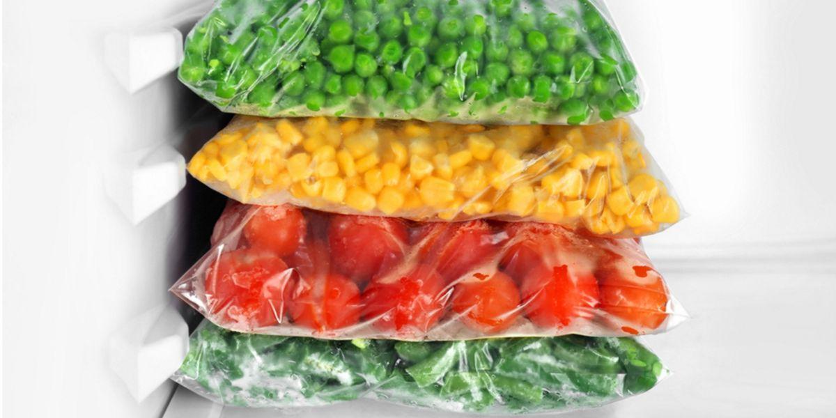 verdure congelate