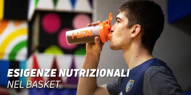 Qual è la corretta Nutrizione per un giocatore di Basket?