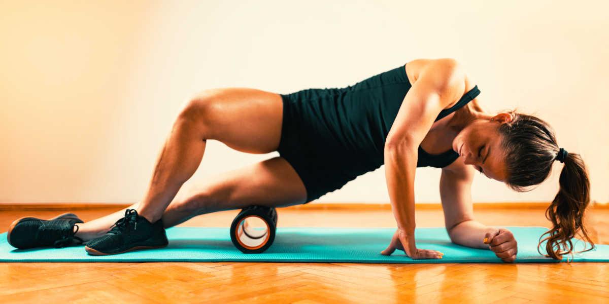esercizi recupero foam roller