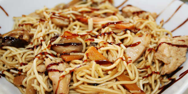 Shirataki di Konjac e Verdure al wok