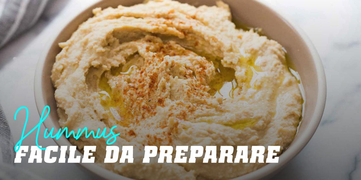 Hummus Facile da Preparare
