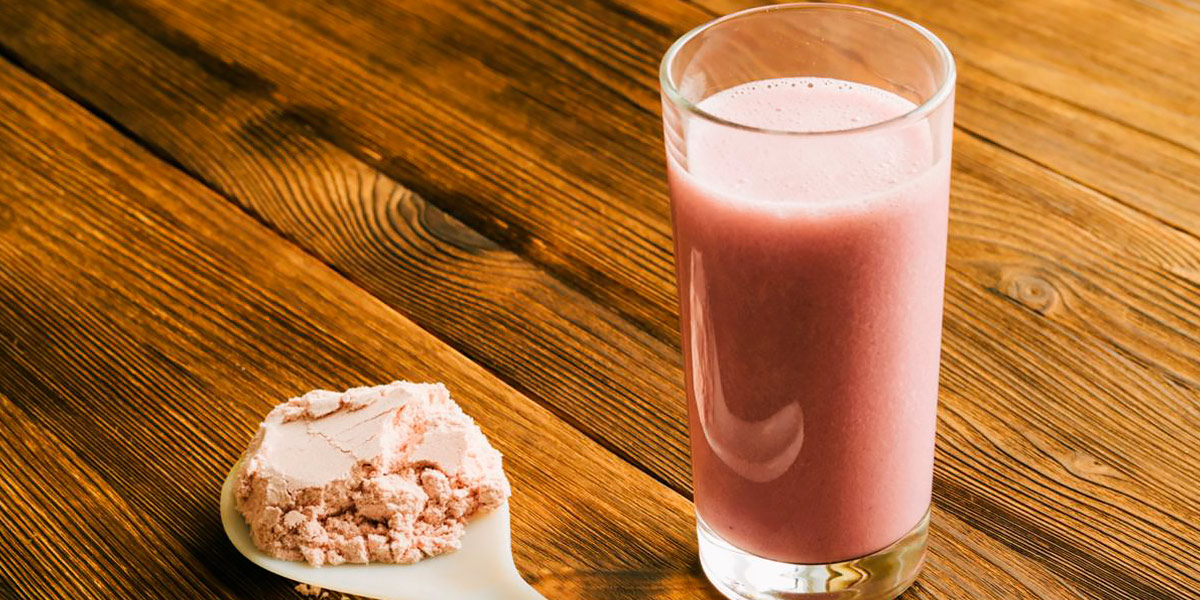 Supplemento di proteine in polvere