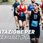 Alimentazione per la mezza maratona