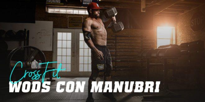 Allenamento di CrossFit con Manubri