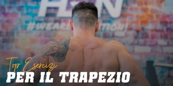 Esercizi Top per muscoli del trapezio più grandi