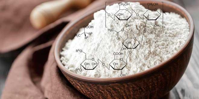 Gomma Xantana struttura molecolare