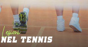 Lesioni nel tennis
