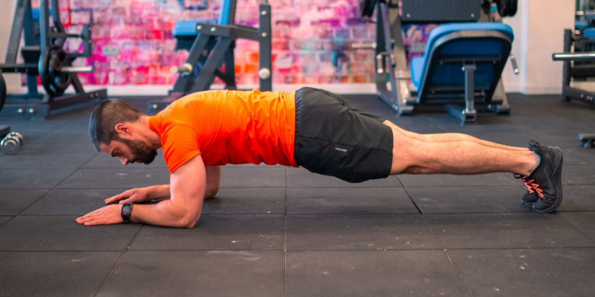 Plank isometrico