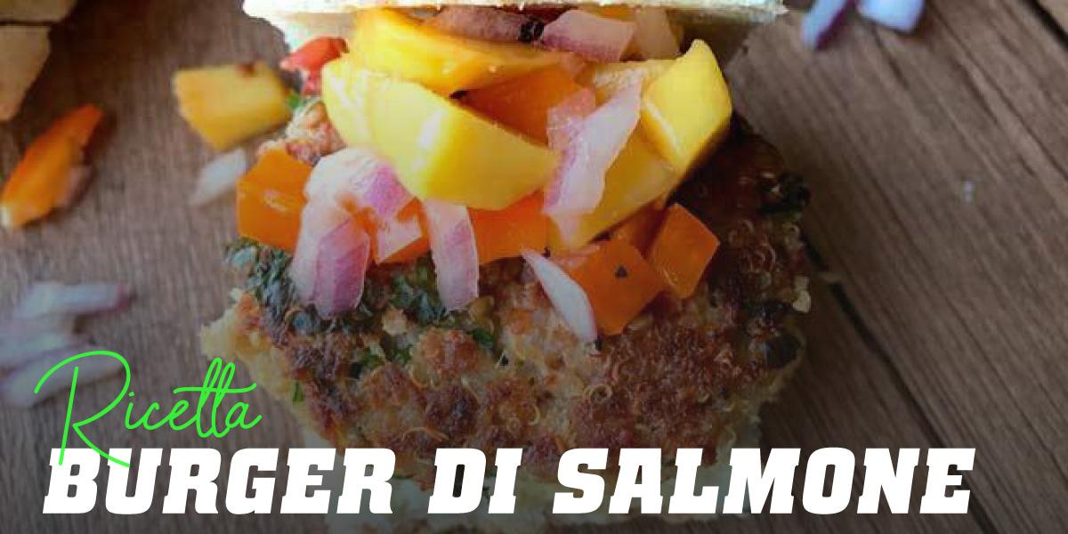 Burger di Salmone e Mango
