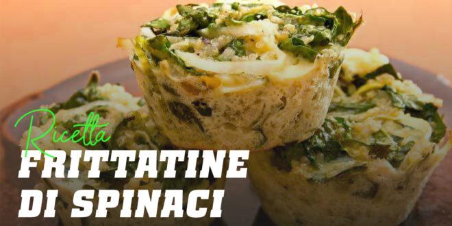 Frittatine di Spinaci, Quinoa e Formaggio