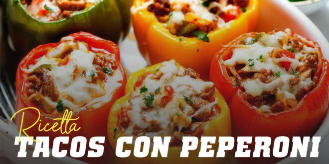 Tacos Messicani con Peperoni Arrostiti