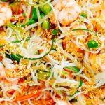 Spaghetti di Riso con Scampi
