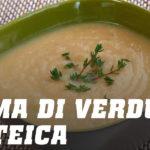 Ricetta crema di verdure proteica