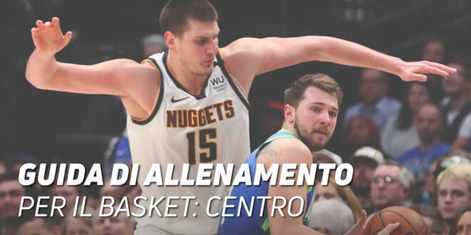Guida di Allenamento di Basket per il Ruolo di Centro