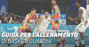 Guida per l'allenamento di basket: guardia