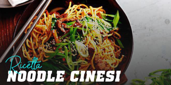 Noodles con Vitello e Sesamo
