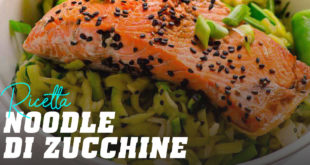 Ricetta noodle di zucchine