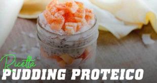 Ricetta pudding proteico