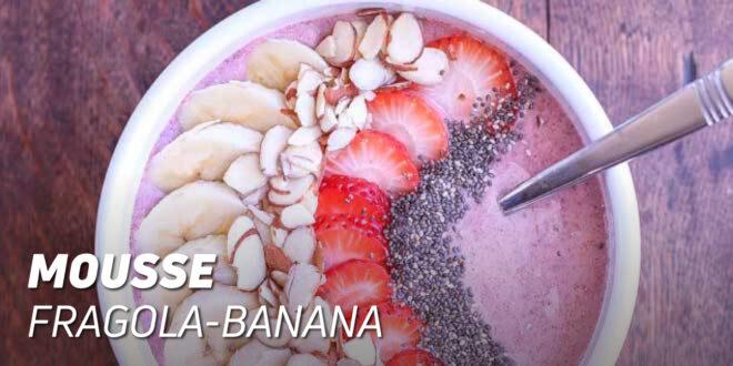 Mousse alla Fragola e Banana