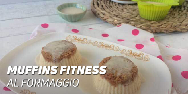 Muffins fitness al formaggio