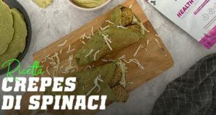 Ricetta crepes di spinaci