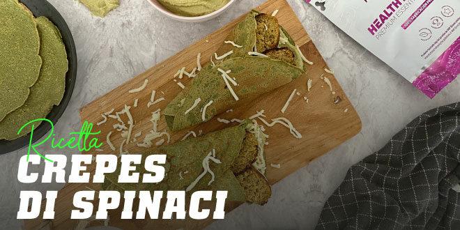 Crepes di Spinaci