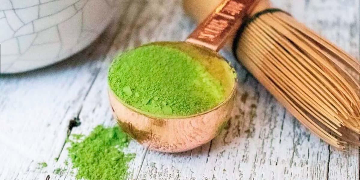 Tè verde per creare cosmetici naturali