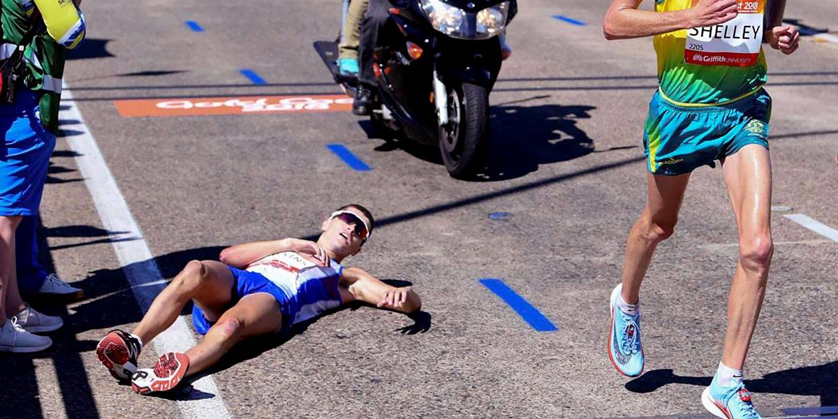 Abbandono della maratona
