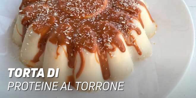 Budino di Proteine al Torrone