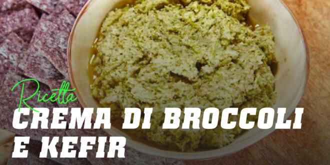 Crema fredda di broccoli con Kefir