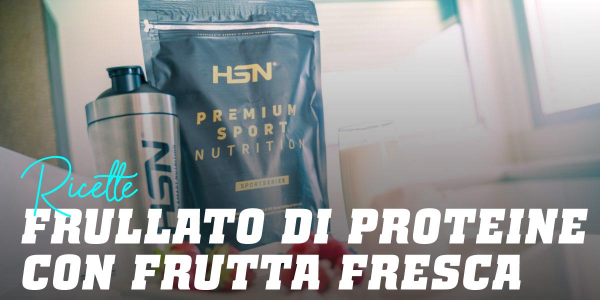Frullato di Proteine con Frutta Fresca
