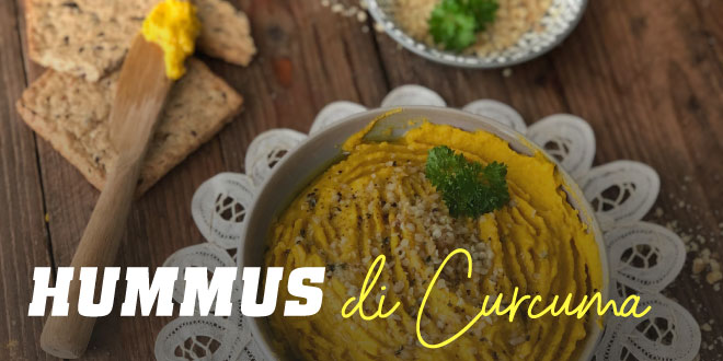 Hummus di Curcuma