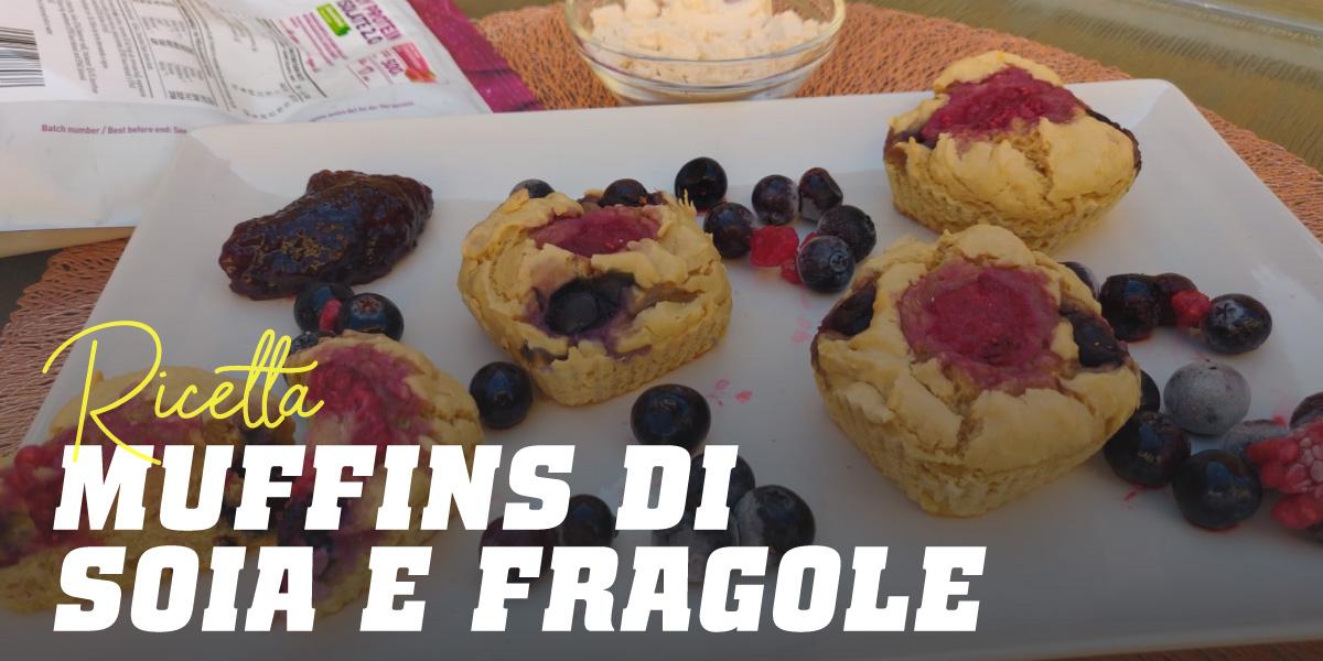 Muffin con Proteine di Soia