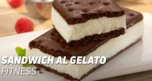 Sandwich al gelato fitness