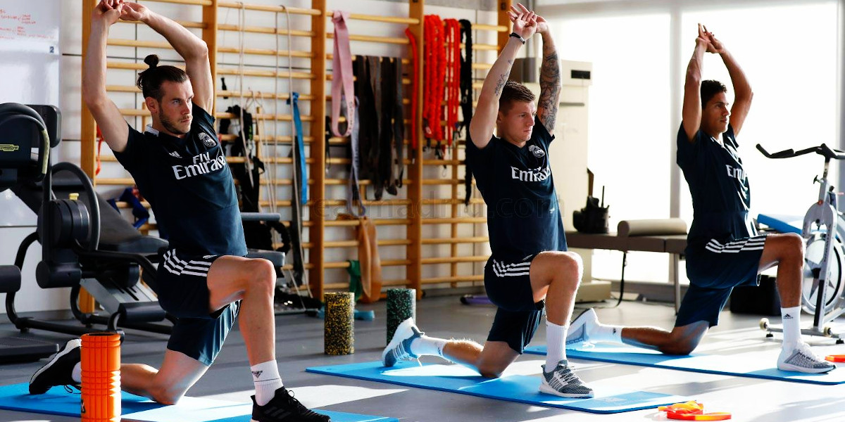 Come lavora il volume muscolare un calciatore?