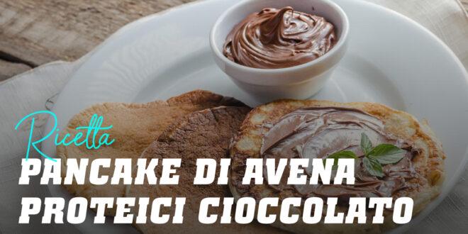 Pancake di Avena Proteici al Cioccolato
